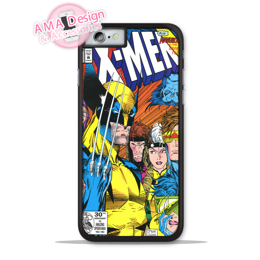 X-Men Wolverine Retro Comics Hero Phone Cover Case For Apple iPhone X Xs Max Xr 8 7 6 6s Plus 5 5s SE 5c 4 4s For iPod Touch image
