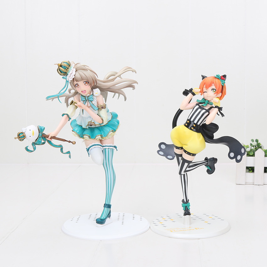 22cm Anime Love Live! Hoshizora Rin south birds 1/7 Scale Pre-Painted PVC Figure Collectible Model Toy Love Live figure цена 2017