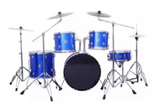 2016China Western musical instruments drums 5 drum 4 cymbalsblue