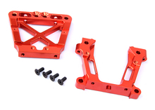 Baja CNC Bulkheads Rear Set Fits 1/5th RC Gas Model Car/Buggy/Truck Baja 5b,ss+Free Shipping