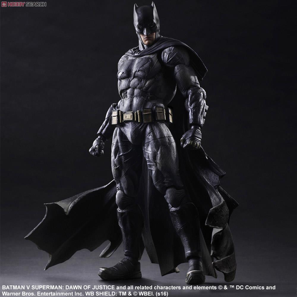 Batman v Superman Dawn of Justice PLAY ARTS Kai Batman PVC Anime Movie Model Action Figure