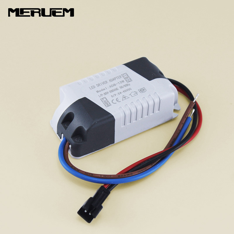 все цены на Free shipping 5pcs/lot 300mA Driver 350ma constant current 8W -12W * 1W Light Transformer Power Supply for LED Lamp Durable CCC