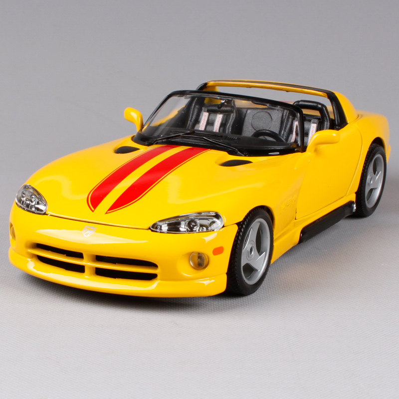 Maisto Bburago 1:18 DODGE VIPER RT/10 Sports Car Diecast Model Car Toy New In Box Free Shipping 12024 bburago is f 1 64