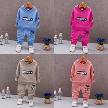 Kabeier 2019 Infant Girls Outfits Cartoon Bear Kids Clothes