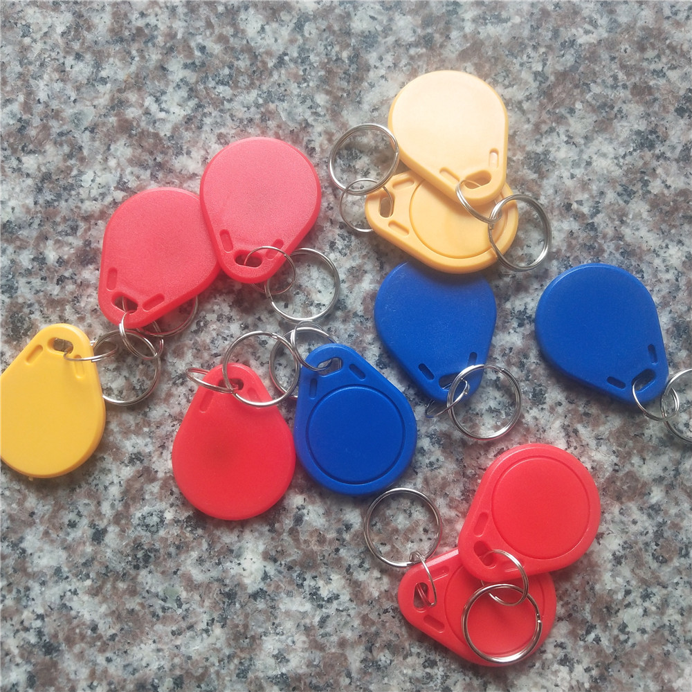 1PCS CUID UID Changeable RFID Support Android App MCT Keytag Nfc Keyfob With Block0 Writeable Key Tag For 1k S50 13.56Mhz