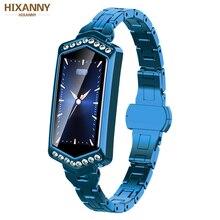 Stylish B78 Smart Watch Women Fitness Bracelet Heart Rate Tracker Monitor Pedometer Waterproof Blood Pressure Oxygen Smartwatch