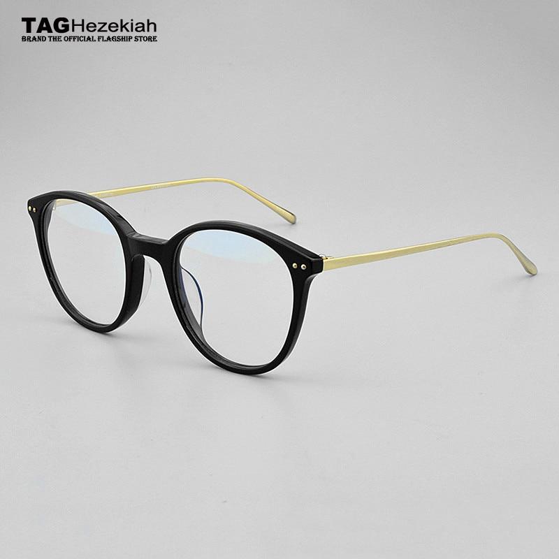 TAG Hezekiah round glasses frame women 2018 Brand eye glasses frames for women spectacles myopia computer optical glasses frame