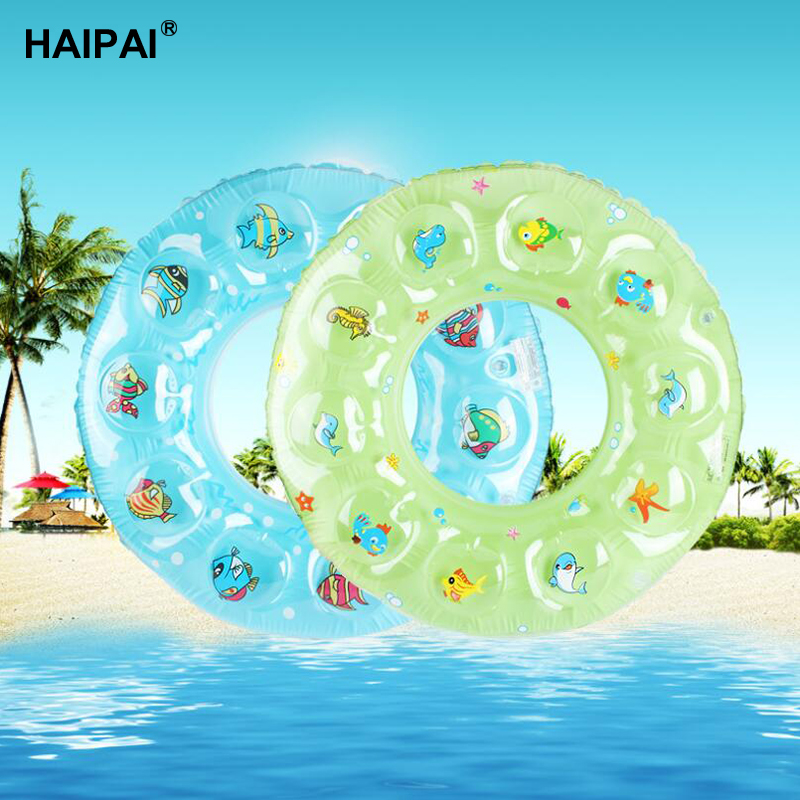 child swimming ring PVC inflatable swim ring Double thickened crystal circle-for-bathing-baby swimming pools for children adult