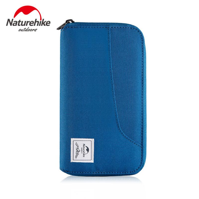 Naturehike Waterproof Travel Wallet Document Package Multi Pockets Card Pack Ultralight Protable Outdoor Travel Bag NH18X020-B