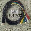 HDMI до 5 RCA Кабель 1.5 м Высокая скорость Позолоченный Штекер Мужчинами Кабель Аудио Видео Компонентный Кабель адаптер Бесплатная Доставка