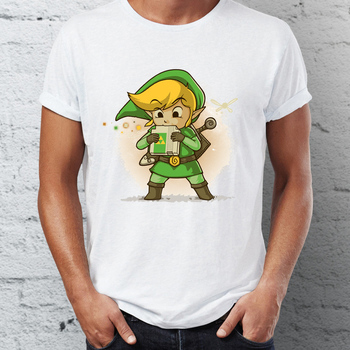 Link Blowing A Cartridge T-Shirt