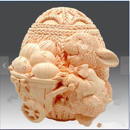 trušu liellopu zaķis olas Silikona veidnes trušu ziepes pelējuma silikona ziepju veidnes silikagēla spīdums Aroma akmens veidņu sveces pelējums