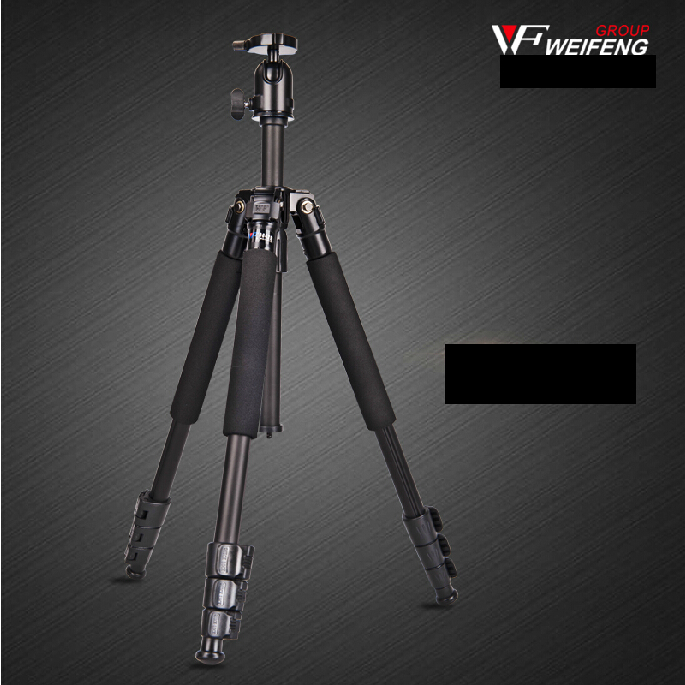 WEIFENG WF3642B Aluminium DSLR Tripod portable travel photography professional camera tripods for slr stand tripod ball head original weifeng wf 6662a ball head camera tripod with carrying bag for canon nikon dslr slr