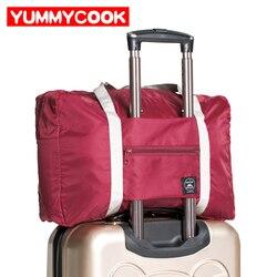 Grandes bolsas de viaje casuales ropa equipaje organizador bolsa de colación maleta accesorios suministros productos