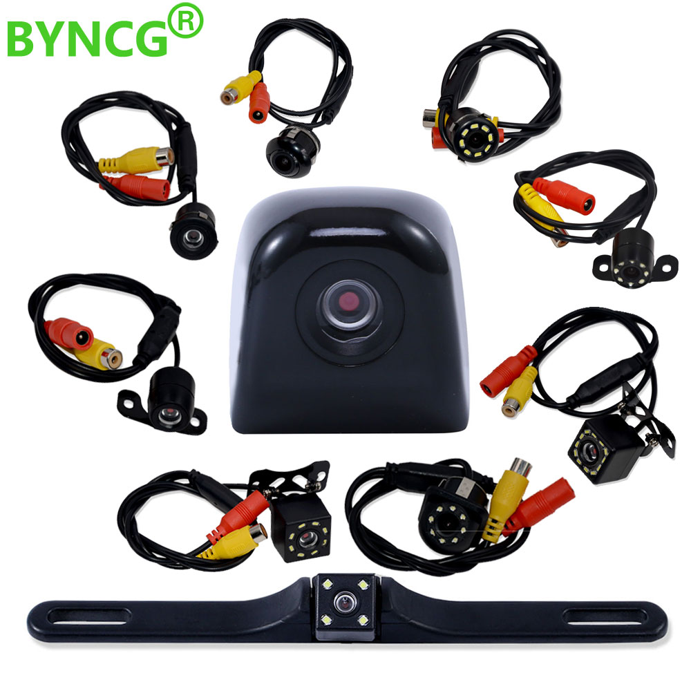 Parking Assistances Car Rearview Reverse Revering Rear View Camera CCD LED Backup With Wide Degree De Re Para Auto Night Vision