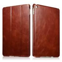 """Najwyższej klasy skórzany futerał Slim Cow dla iPad Air2 9.7 """"Retro biznes prawdziwy skórzany stojak smart cover dla iPad6 iPad Air2 w Obudowy na tablety i czytniki od Komputer i biuro na"""