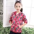 Cotton Warm Windproof Baby Girls Jackets Child Coat Children Outerwear For 3-12T Spring Autumn