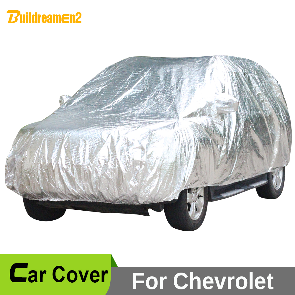 Buildreamen2 Waterproof Car Cover Anti UV Sun Shield Snow Rain Hail Protection Cover For Chevrolet HHR Equinox Captiva Traverse чехол на сиденье skyway chevrolet cobalt седан ch2 2