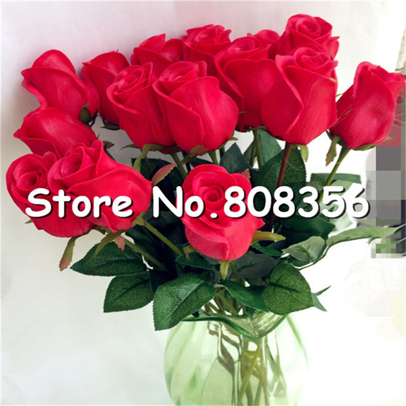 10p real touch rose flower pinkblueblackredyellowpurple pu 10p real touch rose flower pinkblueblackredyellowpurple pu roses artificial rose 43cm for wedding party decorative flowers in artificial dried mightylinksfo