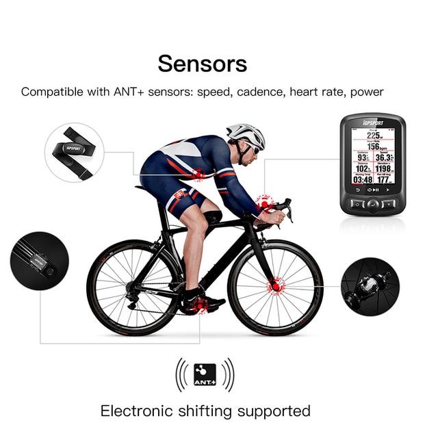 iGPSPORT Igs618 GPS Bike Computer Speedometer Waterproof Bicycle Computer 4
