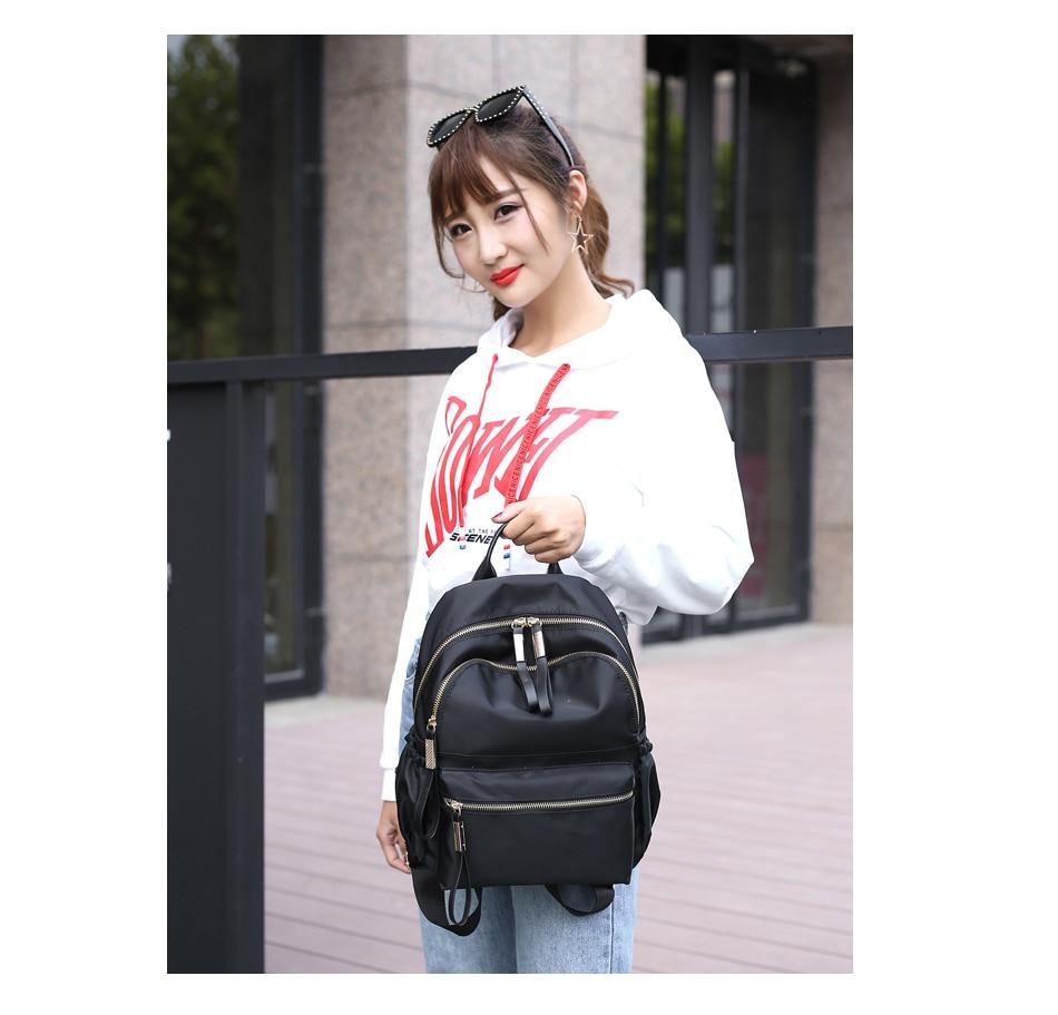 HTB1pKJnXvjsK1Rjy1Xaq6zispXa0 Herald Fashion Backpack Women Leisure Back Pack Korean Ladies Knapsack Casual Travel Bags for School Teenage Girls Bagpack