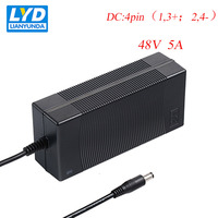 48V/5A Supply LED Power Adapter For Electrical Equipment Switching Adapter Black Switching For LED Strip IT Equipment