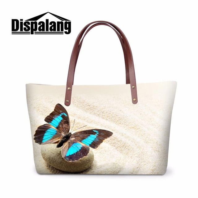 Brand Fashion Women Casual Handbags Erfly Multi Function Waterproof Tote Bags With Zipper Bolas Feminine