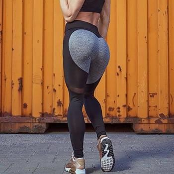 Dámske push up fitness legíny 1