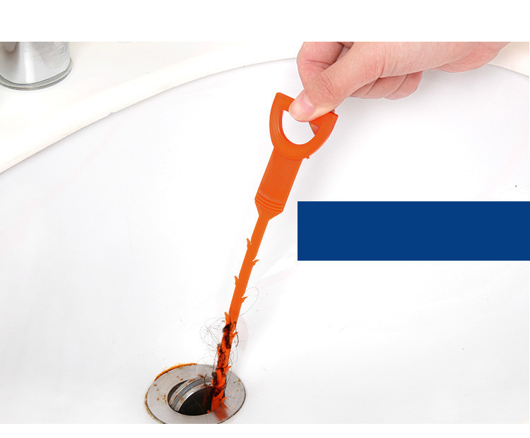 kitchen sink bathroom cleaning tool drain mouth blocking sewer drainage tool household pipeline hair cleaner tools - Kitchen Sink Tools