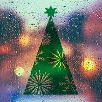 Happy Christmas Płatki Śniegu Na Drzewie Drzewo Dekoracyjne Naklejki Ścienne Art Design Świąteczne Dekoracje Ścienne Kalkomanie Dla Okna