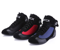 Arcx men and women motorcycle boots shoes racing shoes cycling shoes autumn and summer shoes locomotive Size: 36 45