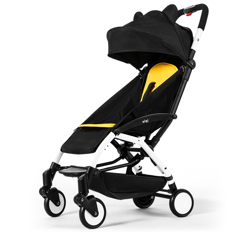 Baby stroller Can sit and lie downlight portable lightweight folding mini pocket umbrella baby stroller baby stroller 5kg ultra light portable on the plane can sit lie simple mini folding baby pocket umbrella summer
