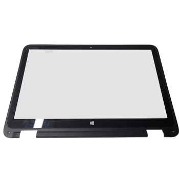 For HP Envy X360 15U 15-U010DX 15-U011DX Front Touch Screen Digitizer Glass Replacement 15.6 inch with Frame Touch control board