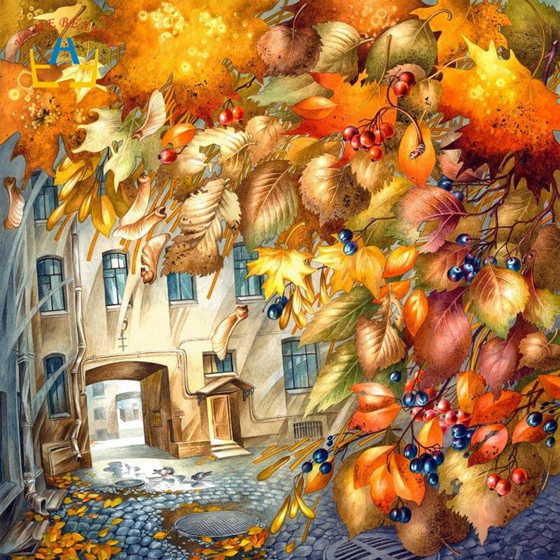 Осень-художница картинки для детей