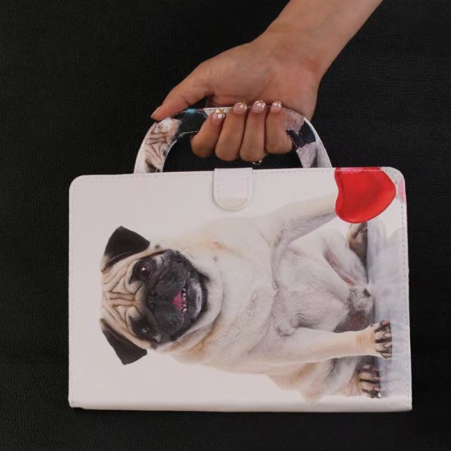 Cartoon Pattern Style Handbag Case For Samsung Galaxy Tab A A6 10.1 2016 SM-T580 T580N T585 T585C Stand Tablet Bag Cover