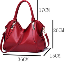 Fashion Designer  Female PU Leather Bag