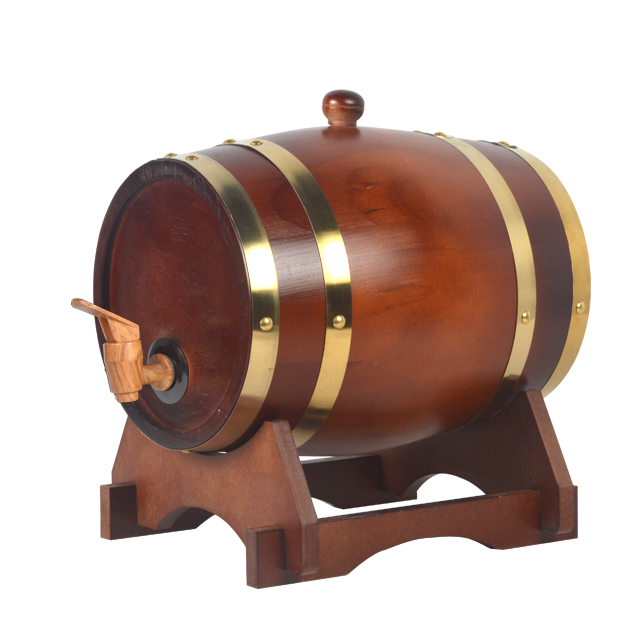 Free shipping 3L Wine oak barrels of wine barrels red wine barrels storage cask wine wooden casks