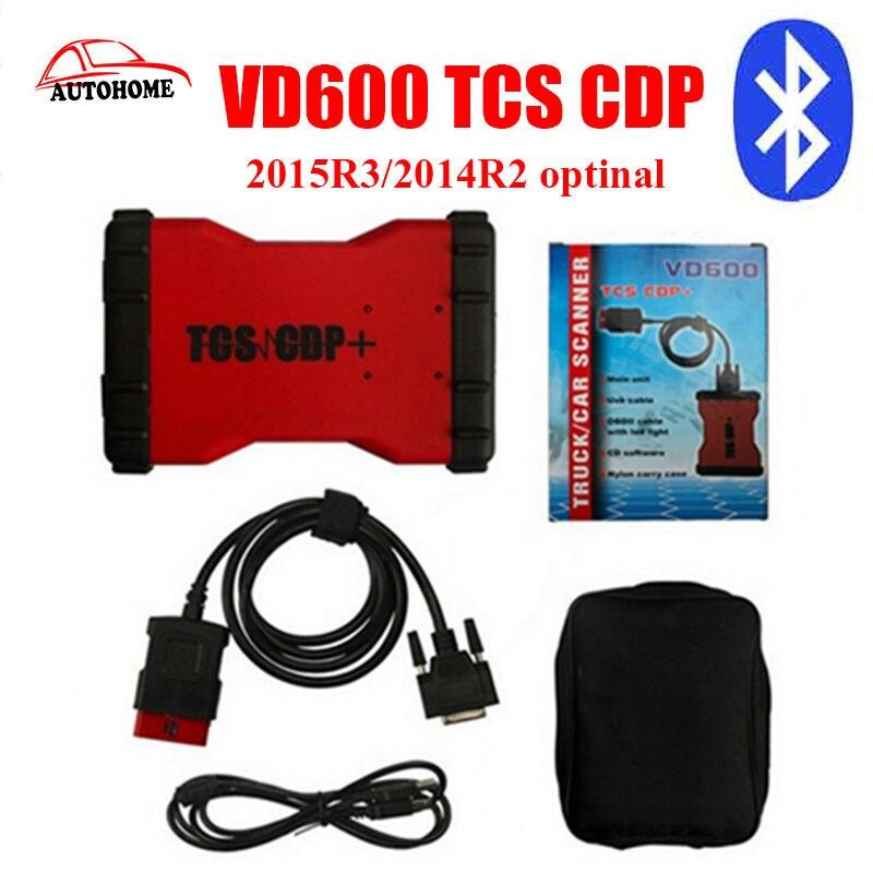 Цена за Новые arrvial VD600 TCS PRO + 2015. R3/2014. R2 версия многоязычная для автомобилей с Bluetooth с бесплатным груза столба фарфора