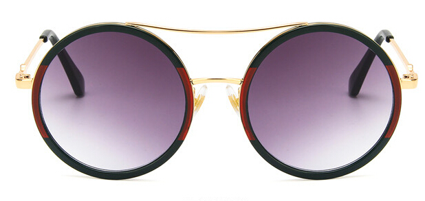 2018 Glasses Green red Round Sunglasses Women Brand Designer Sun Glasses Female Optical Spectacle Eyeglasses Women in Women 39 s Sunglasses from Apparel Accessories