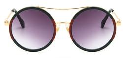 Okrągłe okulary przeciwsłoneczne damskie 2020 Vintage okulary przeciwsłoneczne damskie gefas de sol okulary przeciwsłoneczne oneczne okulary przeciwsłoneczne UV400 5