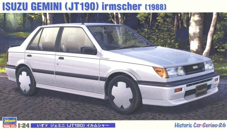 1/24 ISUZU GEMINI (JT190) IRMSCHER(1988)  21126