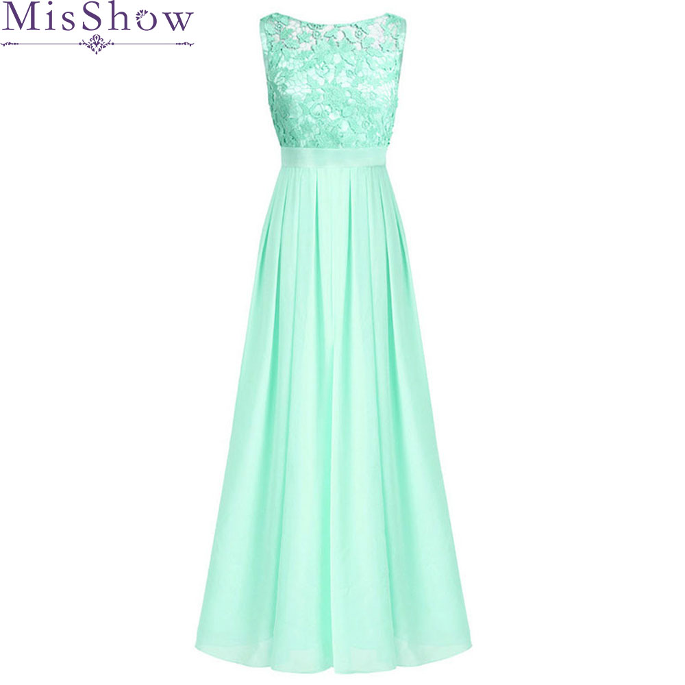 New summer Autumn mint green Sky Blue Sleeveless   bridesmaids     dresses   bride wedding toast prom   dress   2019 wholesale custom made