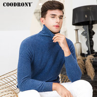 COODRONY Merino Wool Sweater Men Clothes 2018 Winter New Arrivals Thick Warm Turtleneck Sweaters Knitted Cashmere Pullover 8349