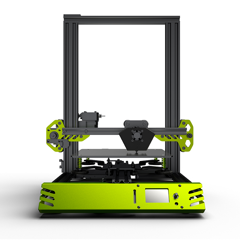 3D kit Stampante TEVO Tarantula Pro Estrusione di Alluminio 3D kit Stampante 3D Stampante carta di DEVIAZIONE STANDARD LCD WiFi opzionale
