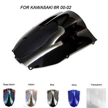 Boulons pour pare-brise de moto, accessoires avec boulons pour Kawasaki Ninja ZX-6R ZX6R 636, 2000, 2001 et 2002