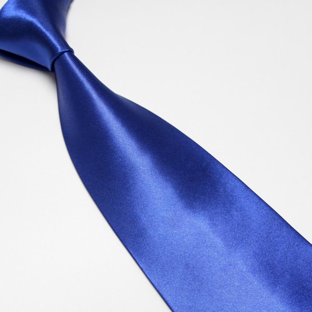 solid blue color ties for men tie Business neckties cravat