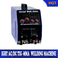 China Rstar factory wholesale 2015 igbt Digital inverter wse200 tig200 ac dc tig mma welder Inverter weld aluminium machine