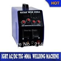 China Rstar factory wholesale igbt Digital inverter wse200 tig200 ac dc tig mma welder Inverter weld aluminium machine