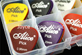 50pcs Alice Matte Acoustic Electric Guitar Picks Plectrums+1 Plastic Picks Holder Case Box Free Shipping