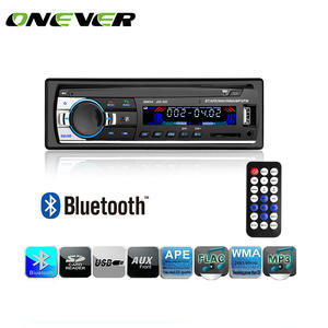 Onever 60WX4 Car Radio 12 V In-dash 1 Din FM Aux Input Receiver